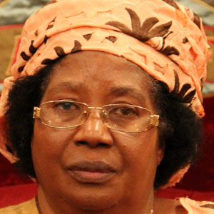 World Leader Joyce Banda - age: 71