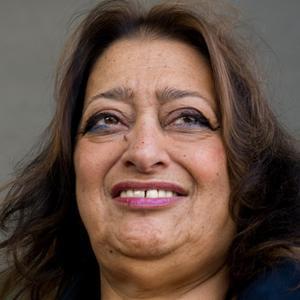 Architect Zaha Hadid - age: 70