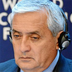Politician Otto Perez Molina - age: 70