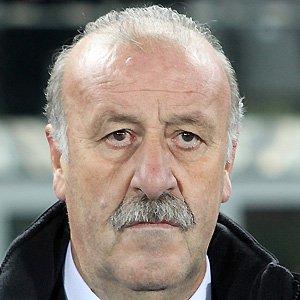 Coach Vincente Delbosque - age: 66