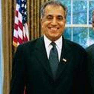 Politician Zalmay Khalilzad - age: 69
