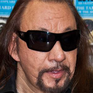 Guitarist Ace Frehley - age: 69