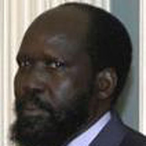 Politician Salva Kiir Mayardit - age: 69