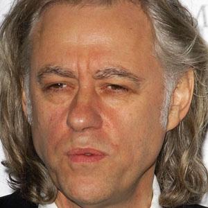 Rock Singer Bob Geldof - age: 69