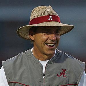 Coach Nick Saban - age: 69