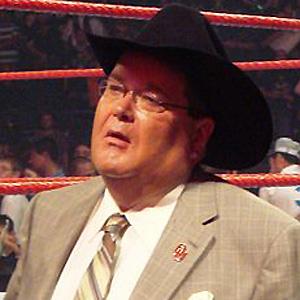 Wrestler Jim Ross - age: 69