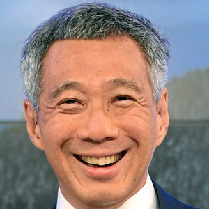 Politician Lee Hsien-Loong - age: 68