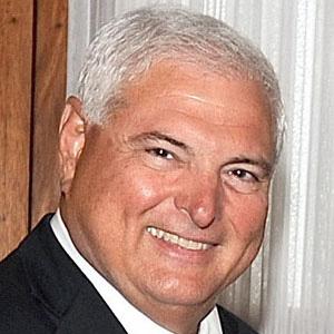 World Leader Ricardo Martinelli - age: 68