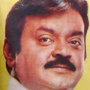 Movie Actor Vijayakanth - age: 64