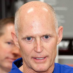 Politician Rick Scott - age: 68