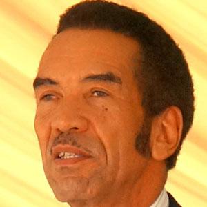 Politician Ian Khama - age: 64