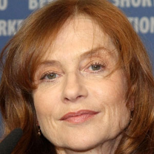Movie actress Isabelle Huppert - age: 67