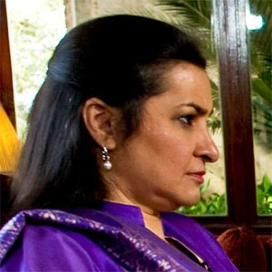 TV Show Host Nasim Zehra - age: 67