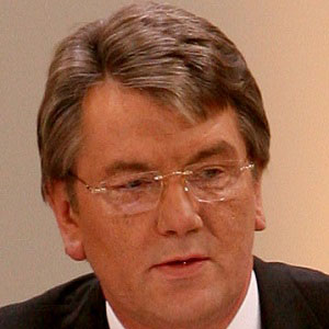 World Leader Victor Yushchenko - age: 63