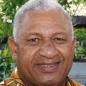 World Leader Frank Bainimarama - age: 66