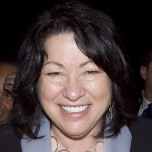 Supreme Court Justice Sonia Sotomayor - age: 62