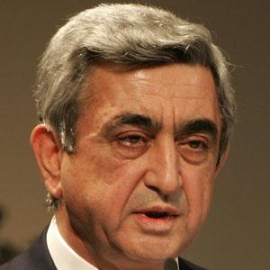 Politician Serzh Sargsyan - age: 66