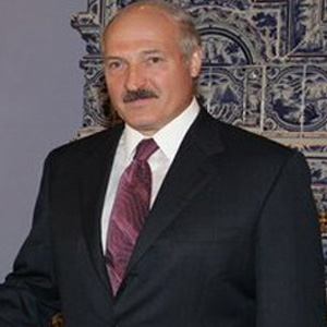 Politician Alexander Lukashenko - age: 66
