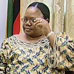 Politician Joyce Mujuru - age: 65