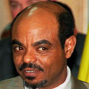 World Leader Meles Zenawi - age: 57