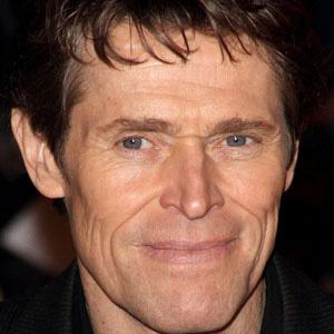 Movie Actor Willem Dafoe - age: 66