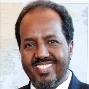 World Leader Hassan Sheik Mohamud - age: 65