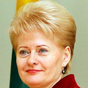 Politician Dalia Grybauskaite - age: 64