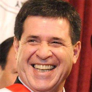 Politician Horacio Cartes - age: 60