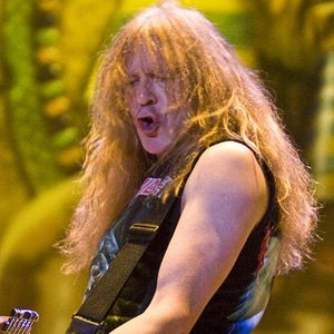 Guitarist Janick Gers - age: 64