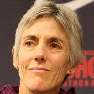 Runner Joan Benoit - age: 63