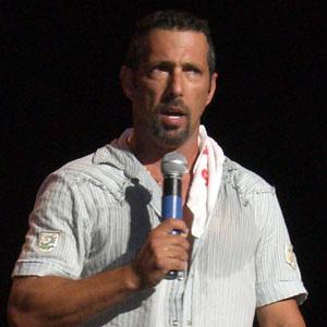 Comedian Rich Vos - age: 59
