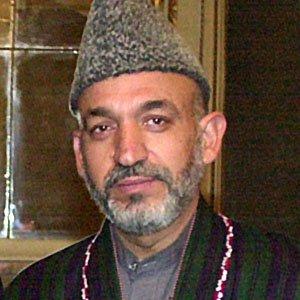 Politician Hamid Karzai - age: 63