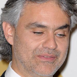 Opera Singer Andrea Bocelli - age: 62