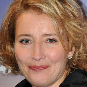 Movie actress Emma Thompson - age: 61