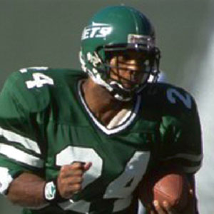 Football player Freeman McNeil - age: 61