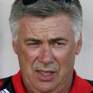 Coach Carlo Ancelotti - age: 62