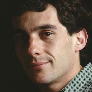 Race Car Driver Ayrton Senna - age: 34
