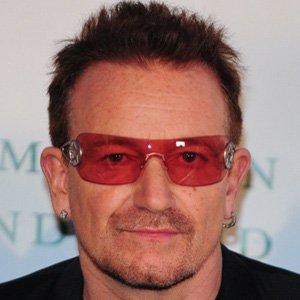 Rock Singer Bono - age: 57