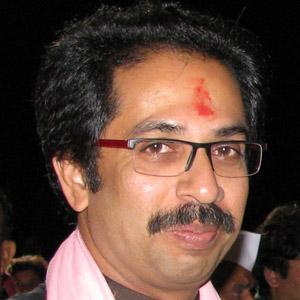 Politician Uddhav Thackeray - age: 56
