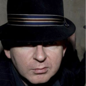 Bassist Alan McGee - age: 60