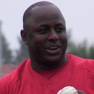 baseball player Billy Hatcher - age: 60