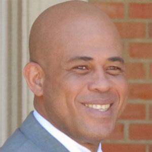 Politician Michel Martelly - age: 59