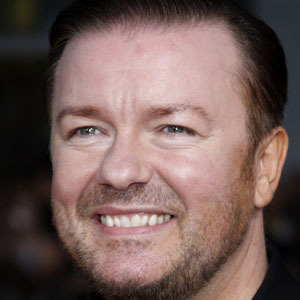 Comedian Ricky Gervais - age: 55