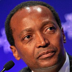 Entrepreneur Patrice Motsepe - age: 58