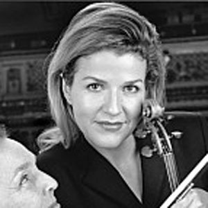 Violinist Anne-Sophie Mutter - age: 57