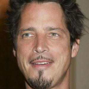 Rock Singer Chris Cornell - age: 57