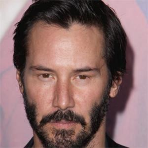 Movie Actor Keanu Reeves - age: 57