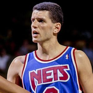 Basketball Player Drazen Petrovic - age: 28