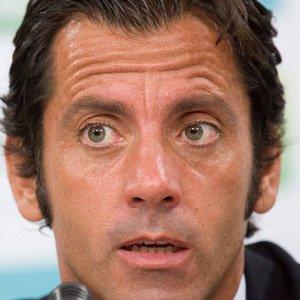 Soccer Player Quique Sanchez Flores - age: 55