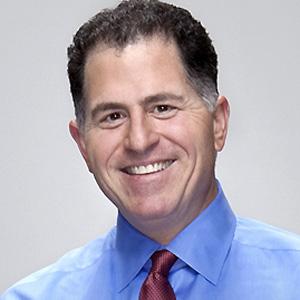 Entrepreneur Michael Dell - age: 52